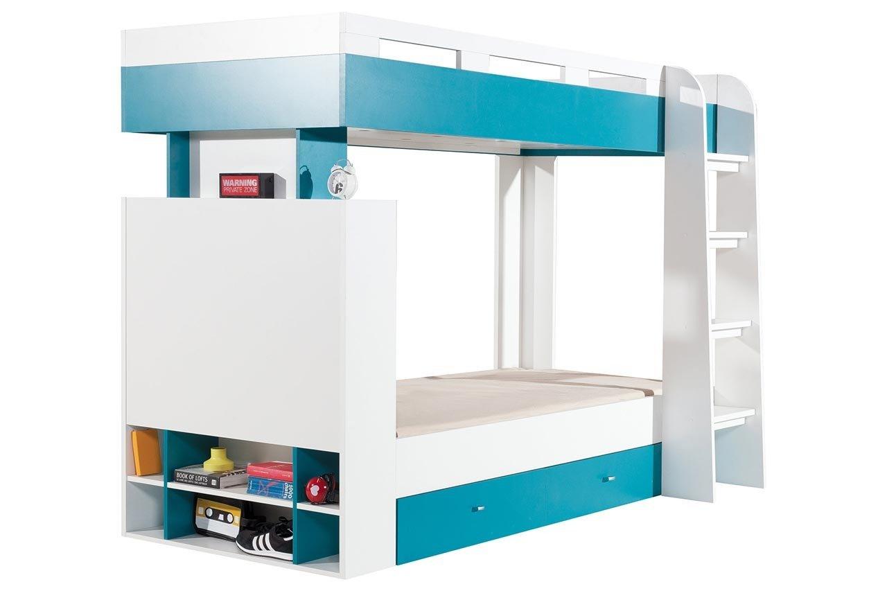 Łóżko młodzieżowe 2 osobowe piętrowe