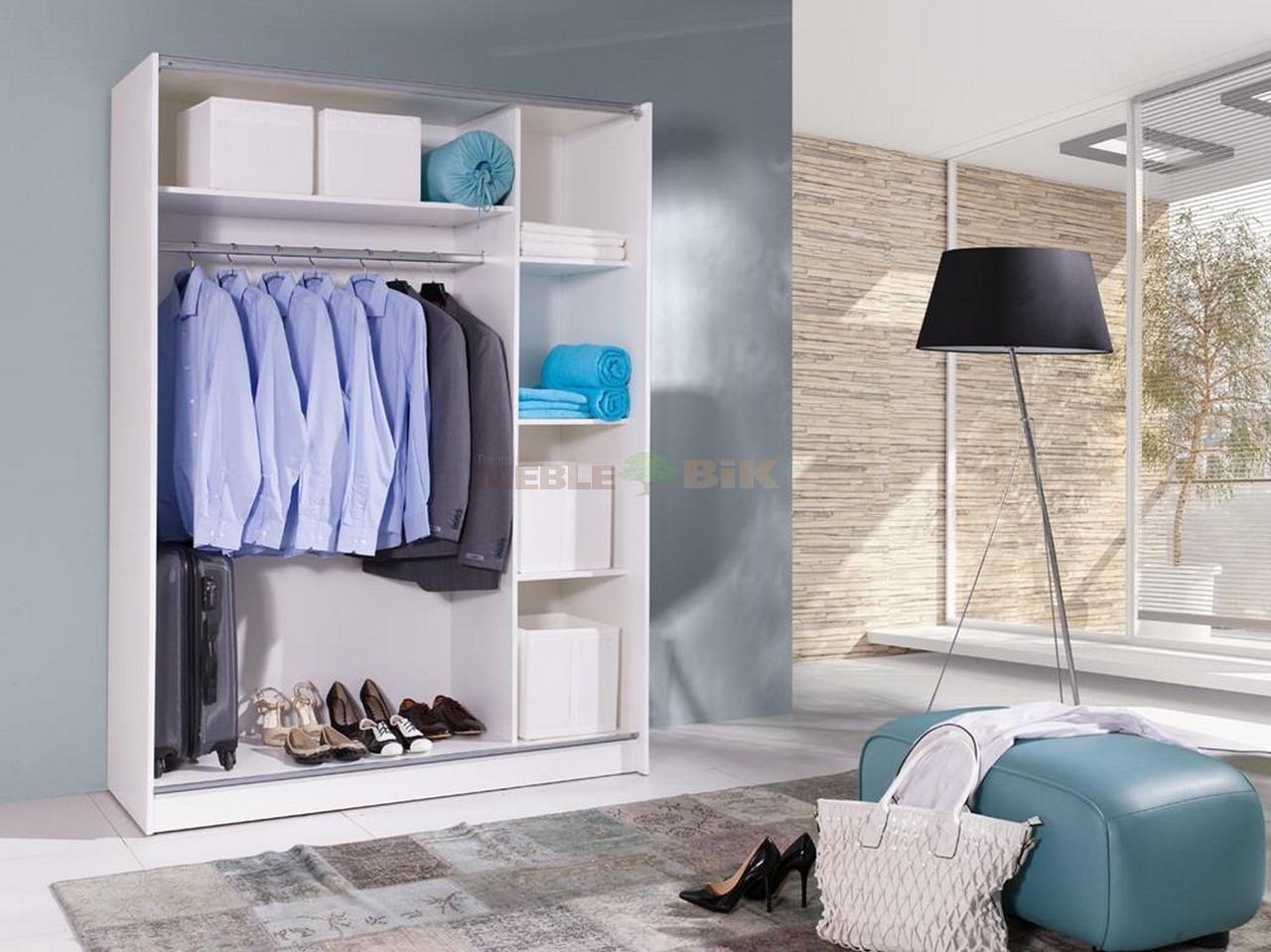 Ikea Trofast Játektároló Eladó ~ Szafa Batumi 7 biała z lustrem drzwiami przesuwnymi białe z