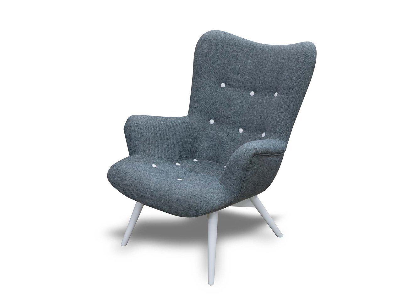 Fotel do salonu skandynawski