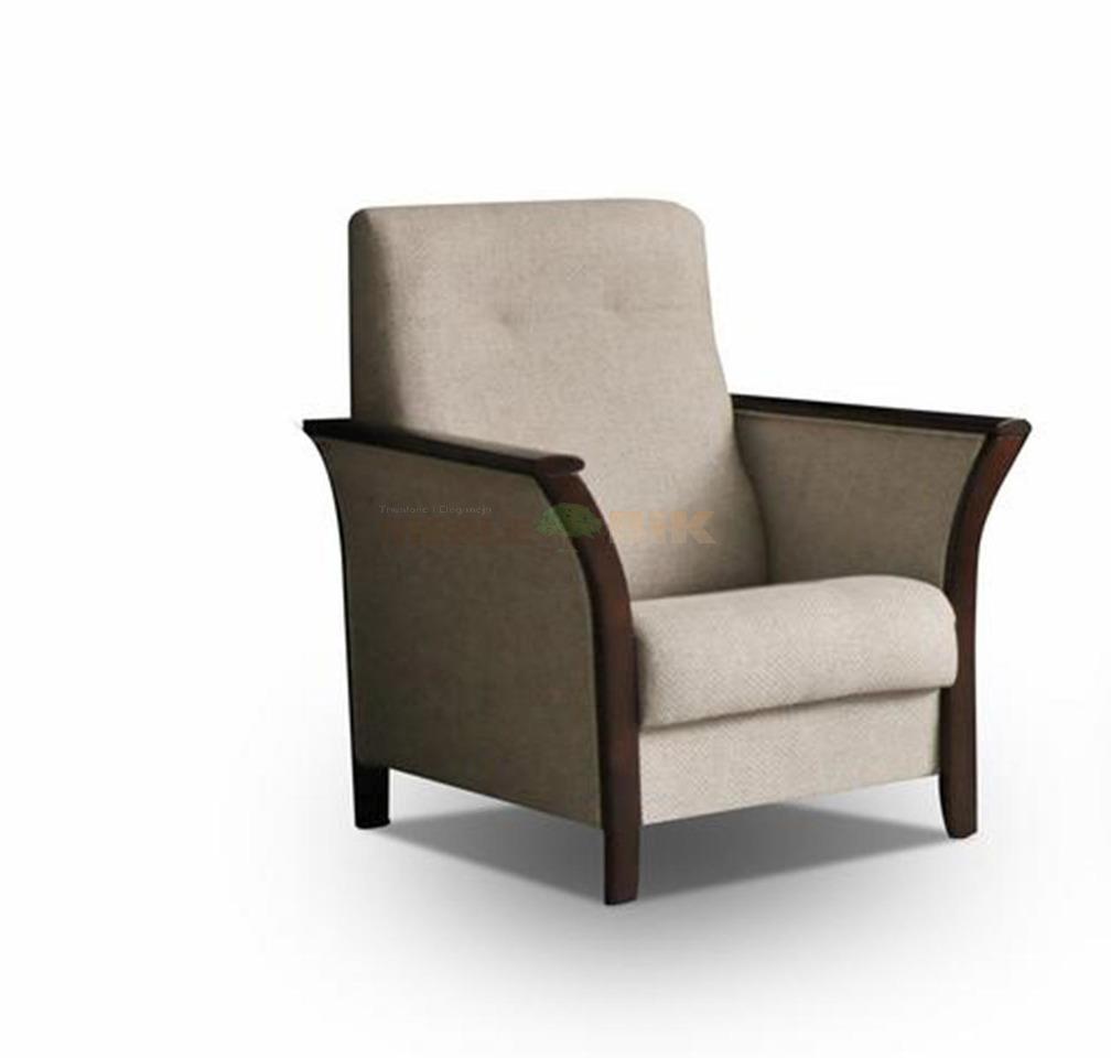 Fotel Wypoczynkowy Z Wstawkami Drewna Rolo Do Salonu Meble