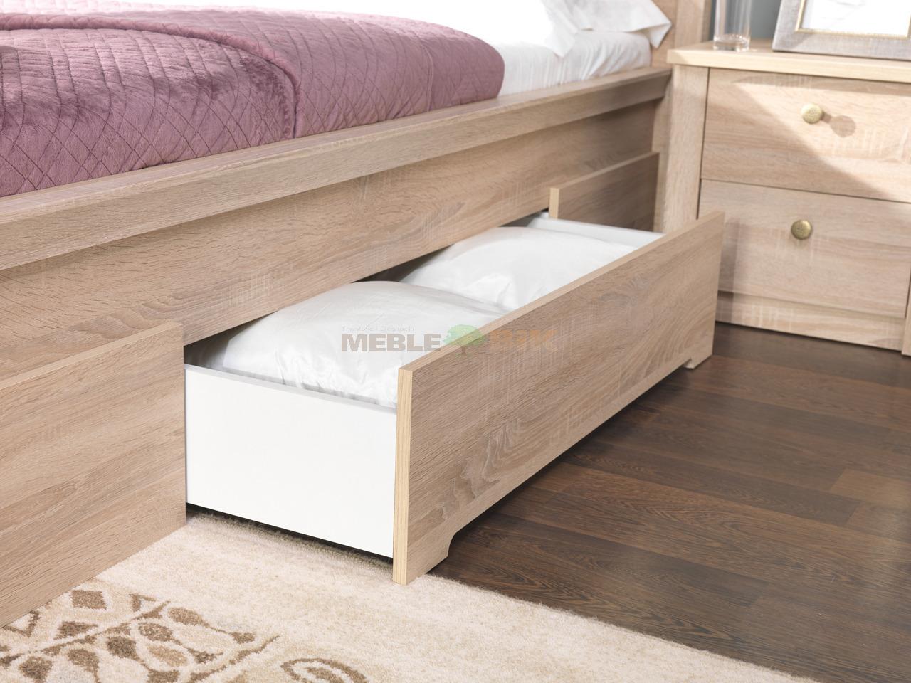 łoże Z Szufladami Finezja 160x200 Do Sypialni łóżko