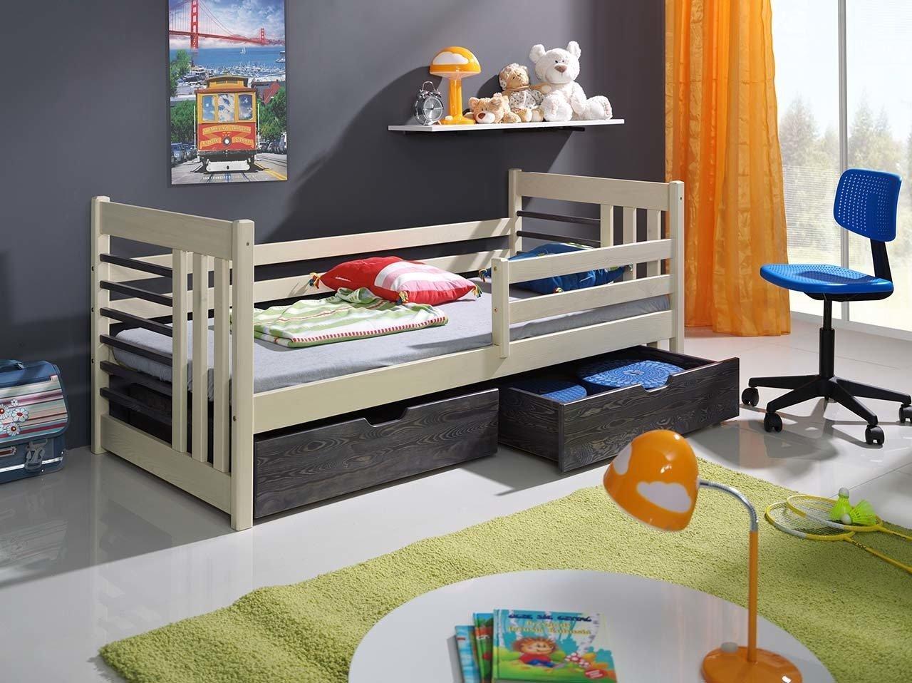 łóżko Otylia Do Pokoju Dziecka Z Barierką