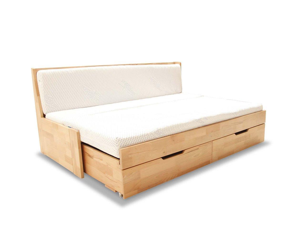łóżko Bukowe Duo A Rozkładane Do 180x200 Gabi Sklep