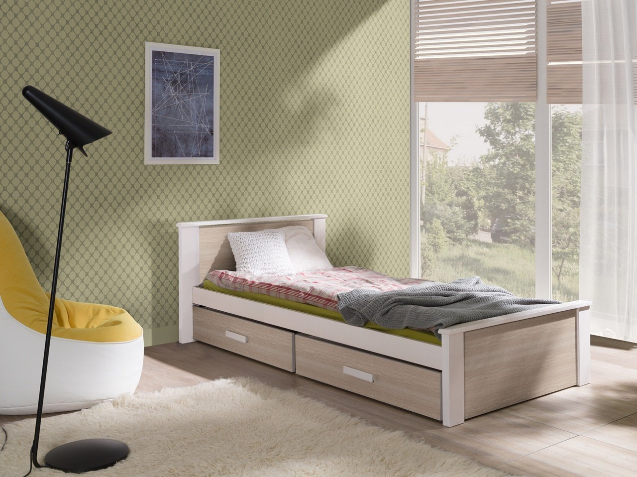 łóżko Do Pokoju Młodzieżowego Aldo Bed Sklep Meblowy