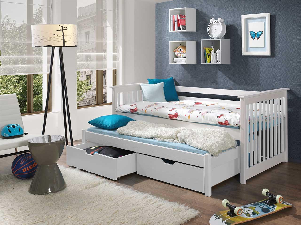 łóżko Piętrowe Niskie 2 Osobowe Do Pokoju Młodzieżowego Syriusz