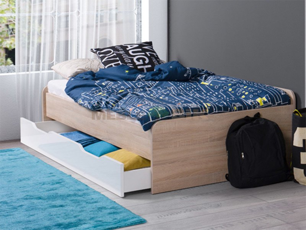 łóżko Podwójne Młodzieżowe Twins Maridex Sklep Meblowy