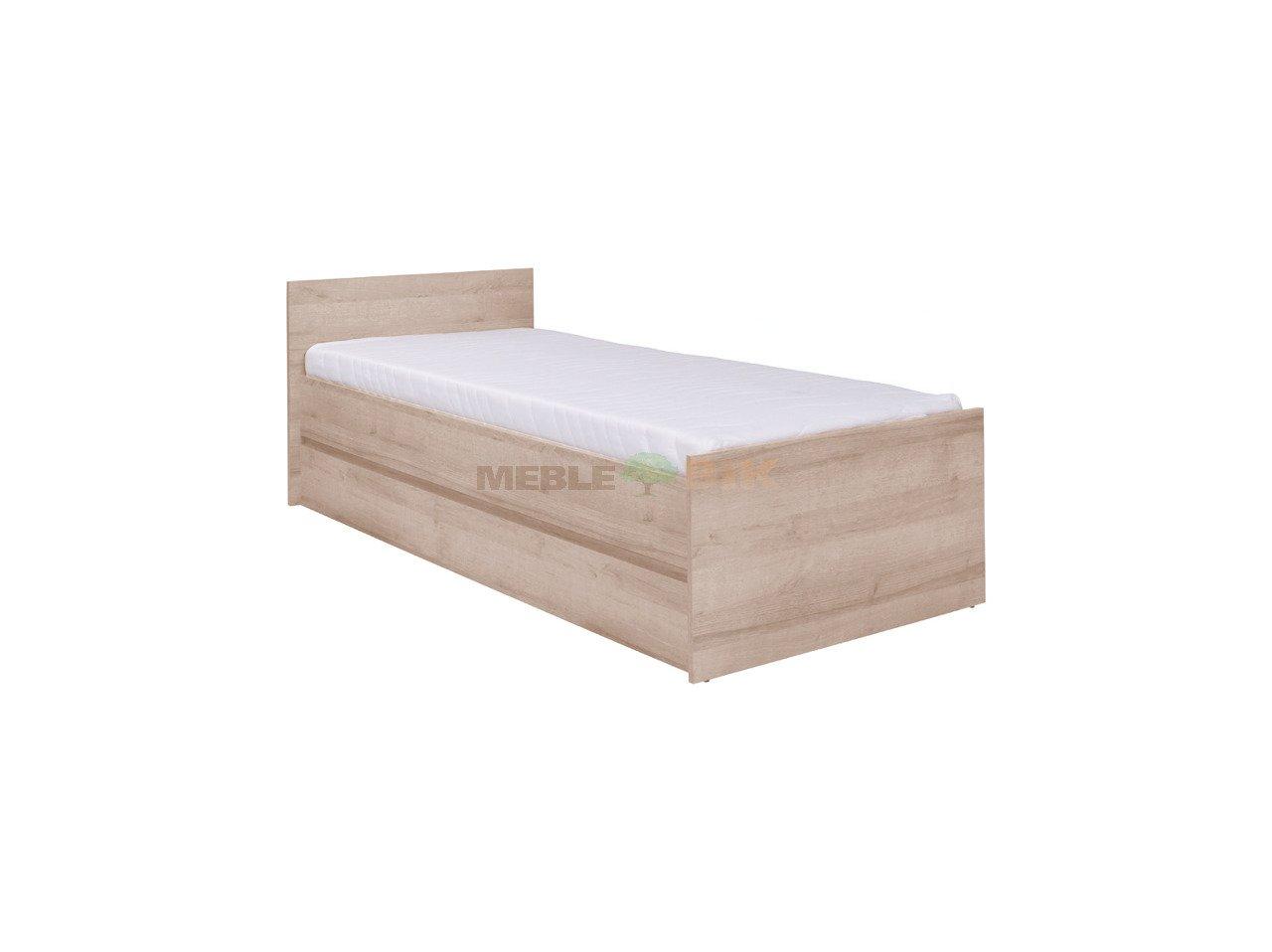 łóżko Z Ramą Drewnianą Cosmo 8 Pod Materac 80x200 Maridex