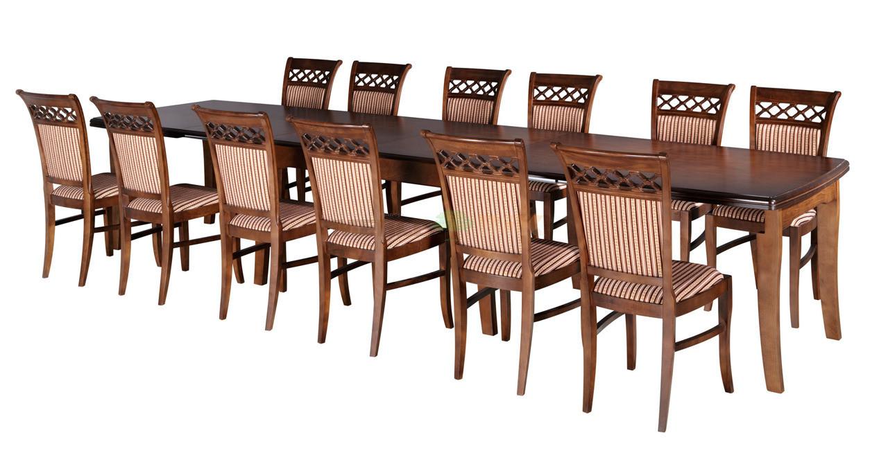 Stół Baron Rozkładany Do 4 Metrów Do Salonu Lub Jadalni Ares